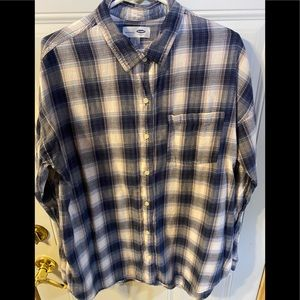 Old Navy Long Sleeve Shirt size Large Tall